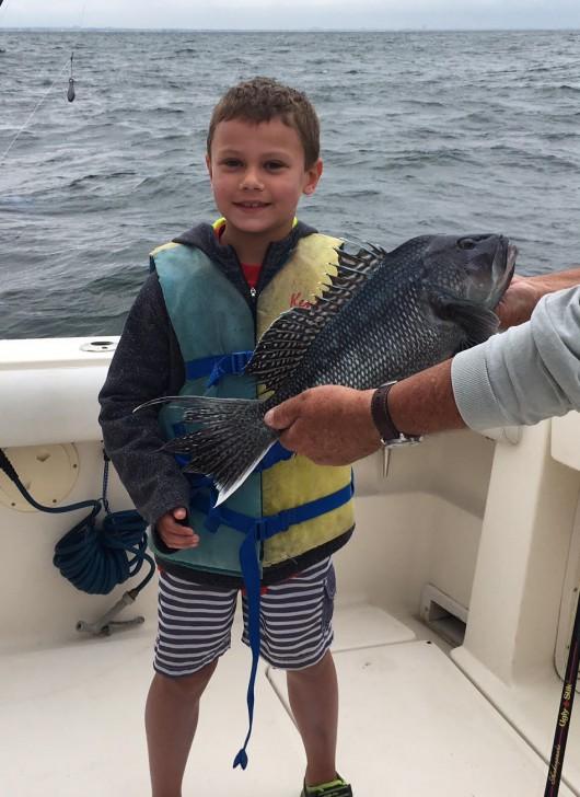 """21"""" monster Sea Bass!"""