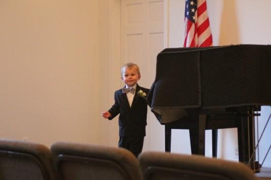 A future president? Pianist?