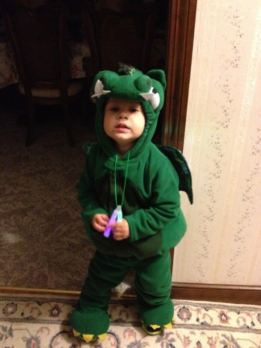 ROAR! Means...more candy please.